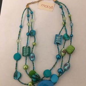 NWT !! Triple Strand Necklace !!